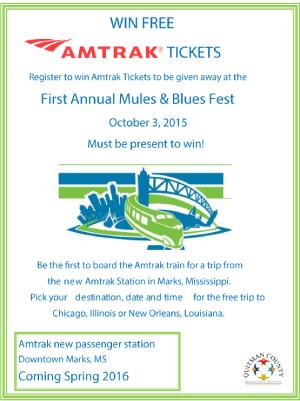 Win free Amtrak tickets!